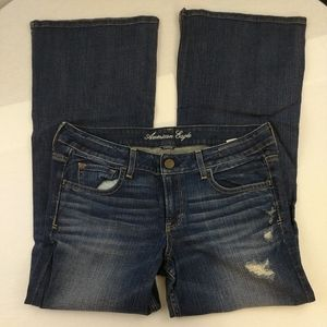 American Eagle hipster stretch jeans size 14